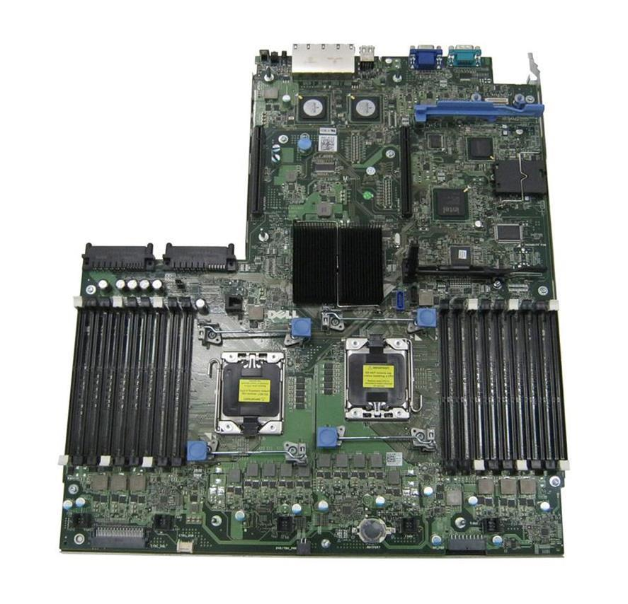Dell System Board (Motherboard) for PowerEdge R710 (Refurbished) Mfr P/N 95WNP
