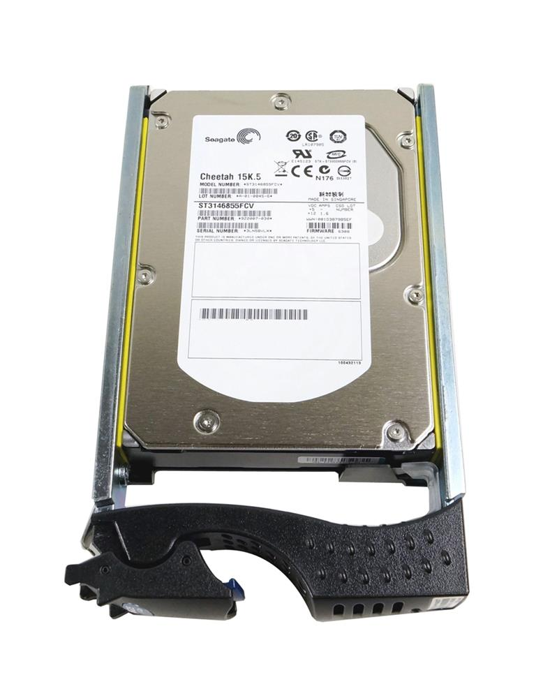 9Z2007-030 Seagate Cheetah 15K.5 146.8GB 15000RPM Fibre Channel 4Gbps 16MB Cache 3.5-inch Internal Hard Drive
