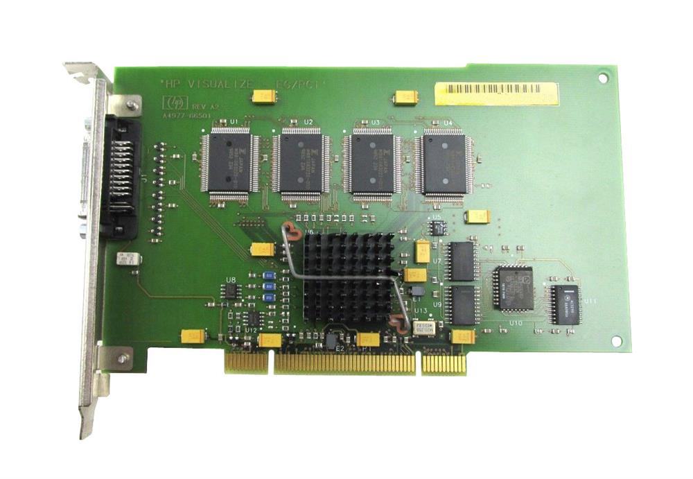 A4977A HP Visualize EG/PCI Video Graphics Card