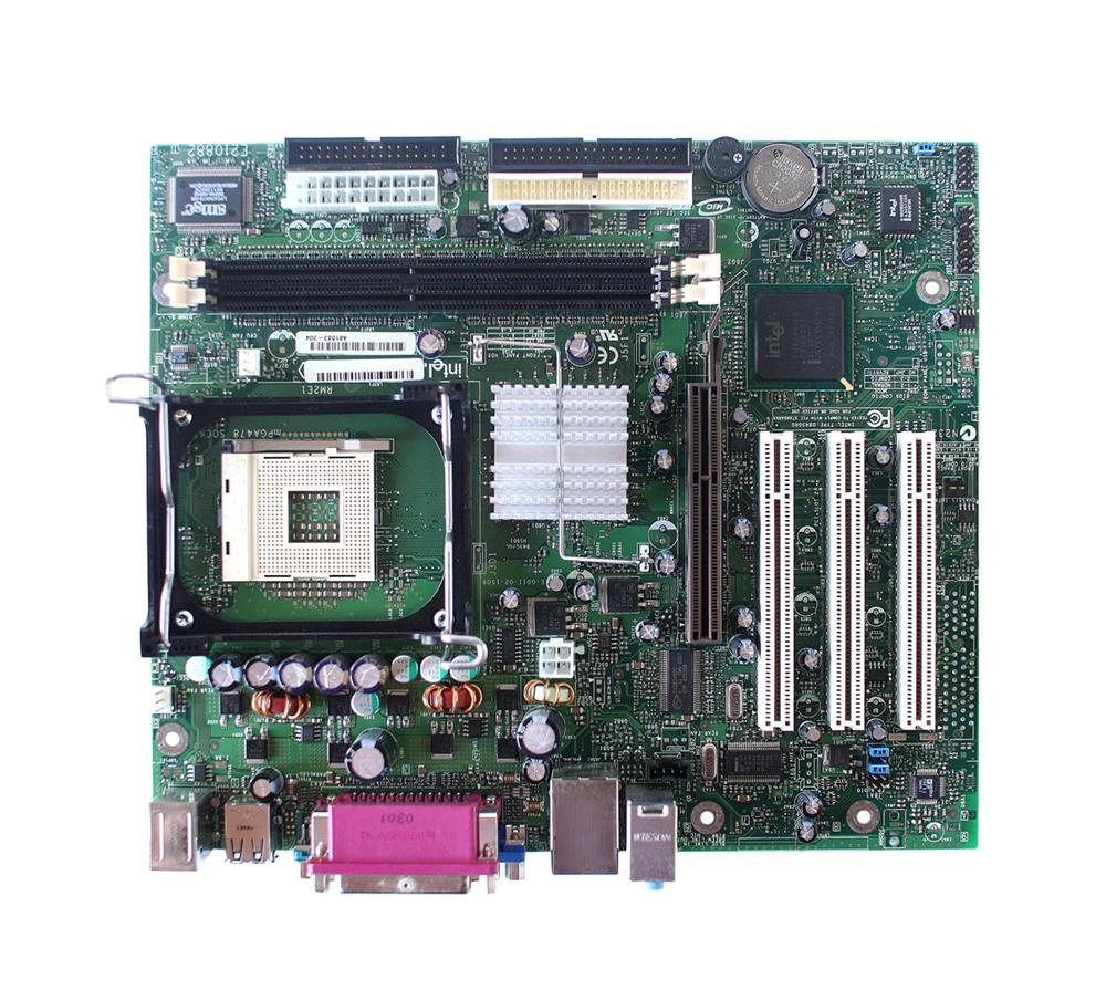 Intel Motherboard Socket PGA478 DDR micro ATX (Refurbished) Mfr P/N A81583-302