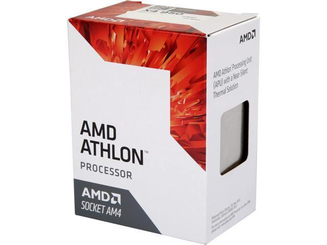 AD950XAGABBOX AMD Athlon X4 950 Quad-Core 3.50GHz 2MB L2 Cache Socket AM4 Processor