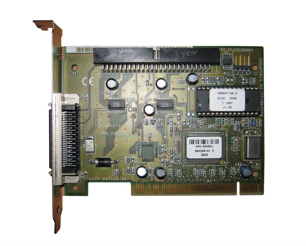 Adaptec SCSI Drive Controller Mfr P/N AHA-2940AU