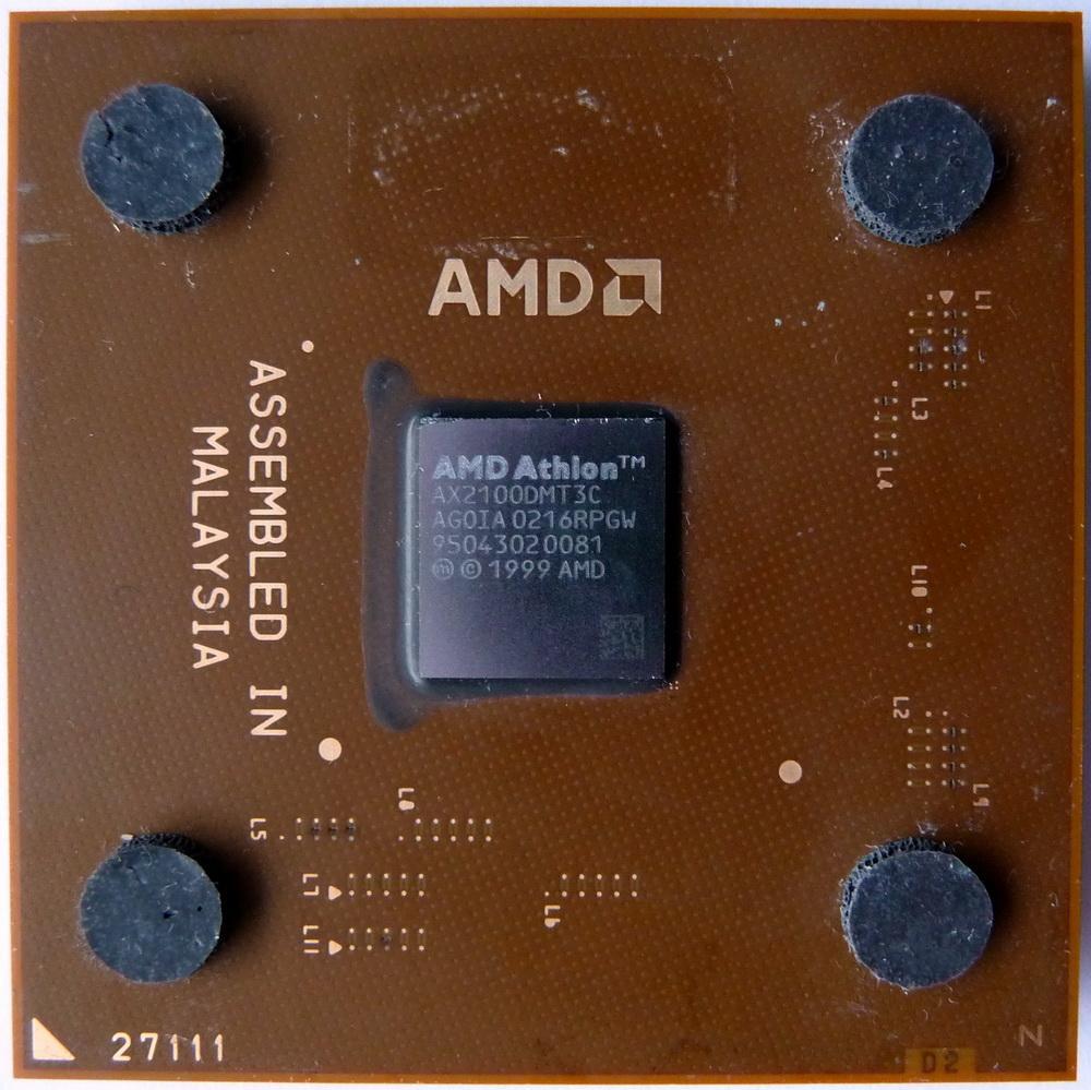 AMD Athlon XP 2100+ 1.70GHz 266MHz L2-256KB Cache Socket A Processor OEM Mfr P/N AX2100DMT3C