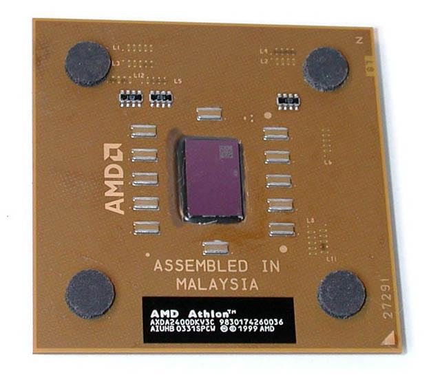 AMD Athlon XP 2400+ 2.0GHz 266MHz L2-256KB Cache Socket A Processor Oem Mfr P/N AXDA2400DKV3C