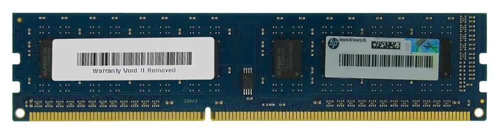 HP 8GB PC3-12800 DDR3-1600MHz non-ECC Unbuffered CL11 240-Pin DIMM Memory Module Mfr P/N B1S54AT