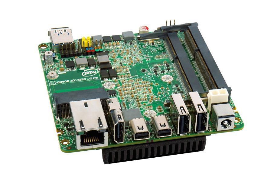 Intel DC53427RKE Motherboard GMA4000 GbE SoDimm (1 x Single Pack) (Refurbished) Mfr P/N BLKD53427RKE