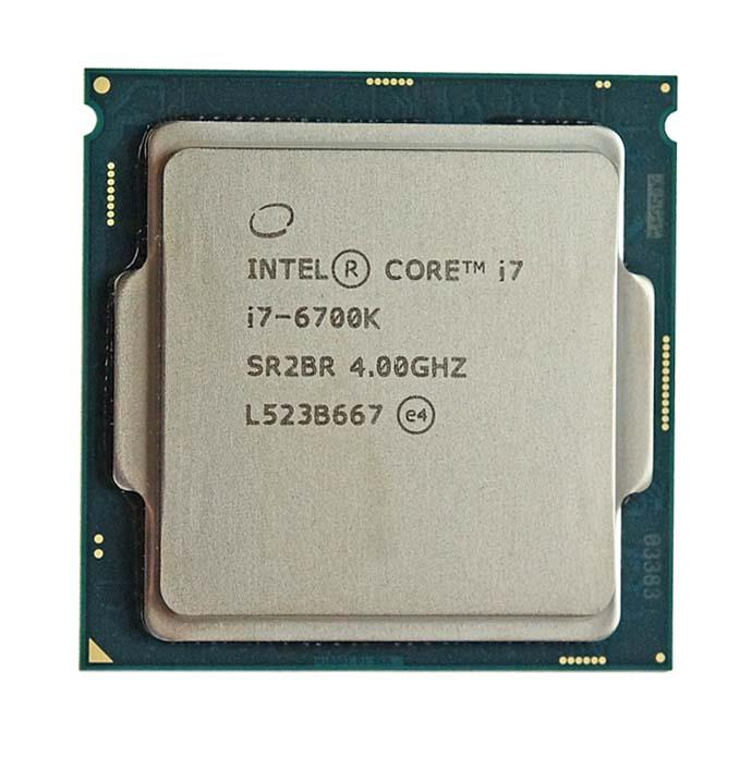 BX80662I76700K Intel Core i7-6700K Quad Core 4.00GHz 8.00GT/s DMI3 8MB L3 Cache Socket LGA1151 Desktop Processor