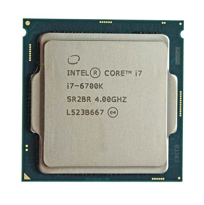 BXC80662I76700K Intel Core i7-6700K Quad Core 4.00GHz 8.00GT/s DMI3 8MB L3 Cache Socket LGA1151 Desktop Processor