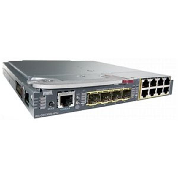 CBS3020 Cisco Catalyst 3020 Multi-Layer Blade Switch 16-Ports 8 x 10/100/1000Base-T Gigabit LAN 4 x SFP (mini-GBIC) Layer 3 Switch (Refurbished)