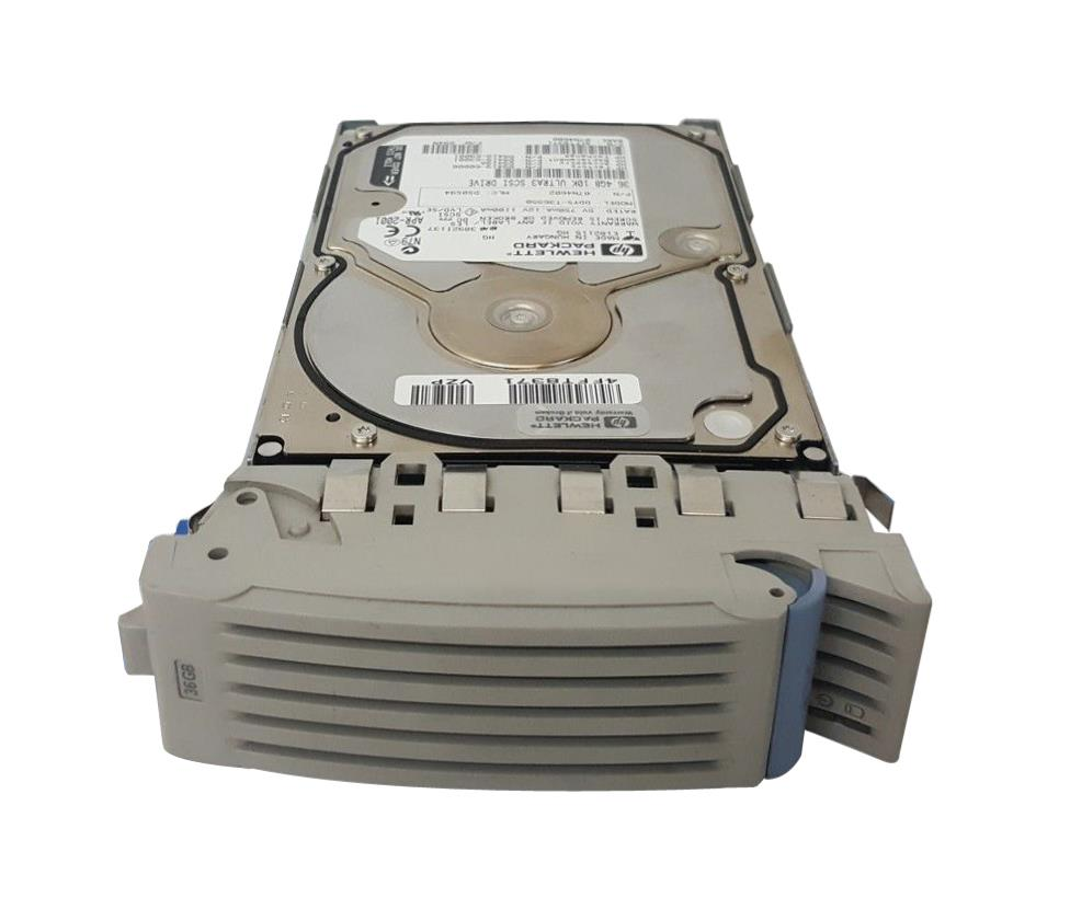 D9419-69002 HP 36.4GB 10000RPM Ultra-160 SCSI 80-Pin LVD Hot Swap 3.5-inch Internal Hard Drive with Tray