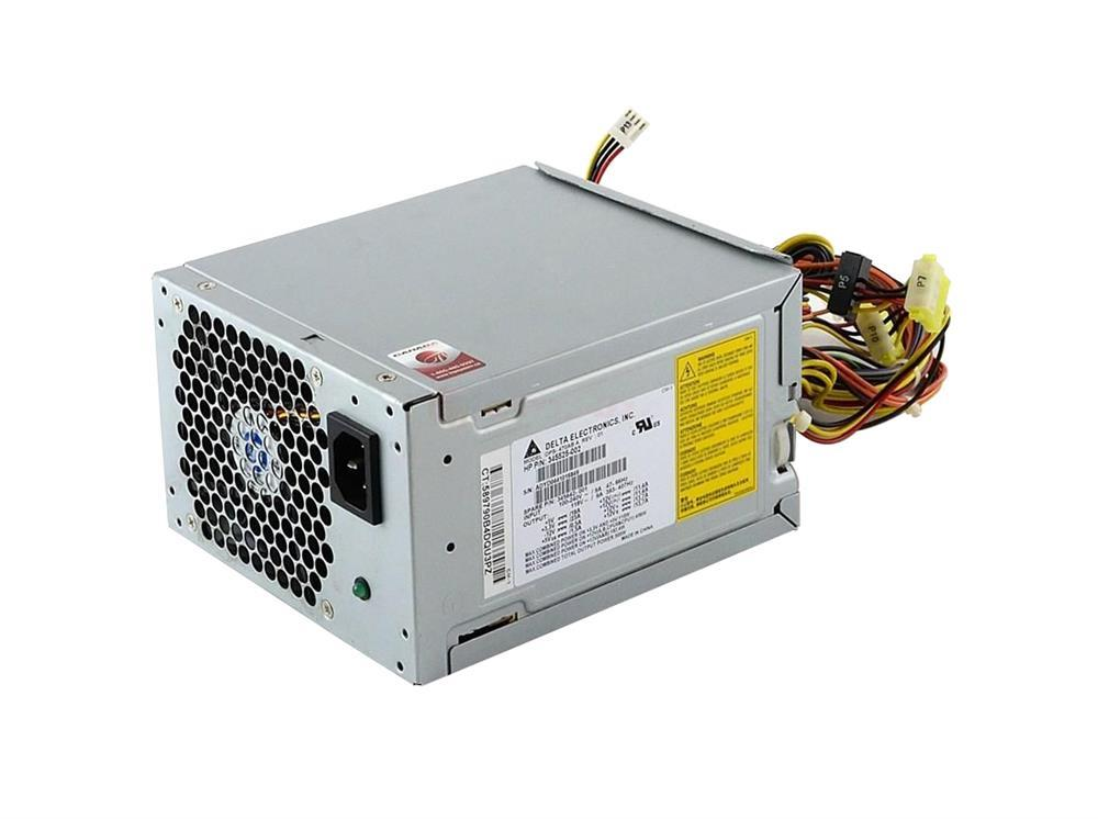 HP 500-Watts 90-264V AC Power Supply with Active PFC for XW6200 WorkStation Mfr P/N DPS-470AB-1A