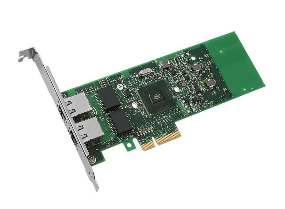 E1G42ETBLK Intel Dual-Ports RJ-45 1Gbps 10Base-T/100Base-TX/1000Base-T Gigabit Ethernet PCI Express 2.0 x4 Server Network Adapter