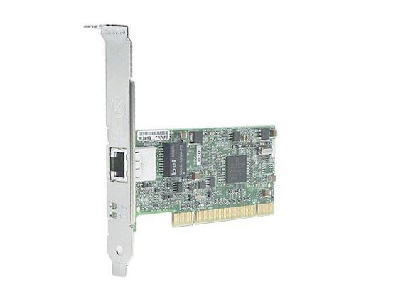 EA833AA HP /Broadcom NetXtreme Single-Port RJ-45 10/100/1000Base-T 1Gbps PCI Express Gigabit Ethernet Network Card