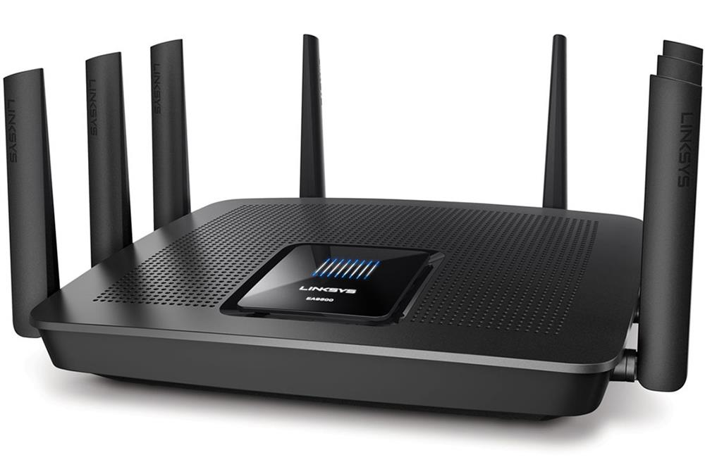 EA9500 Linksys Max-stream Tri-band Ac5400 Wi-Fi Router (Refurbished)