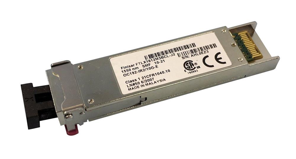 FTLX1612M3BCL-J2 Finisar 10Gbps 10GBase-ER Single-mode Fiber 40km 1550nm Duplex LC Connector XFP Transceiver Module