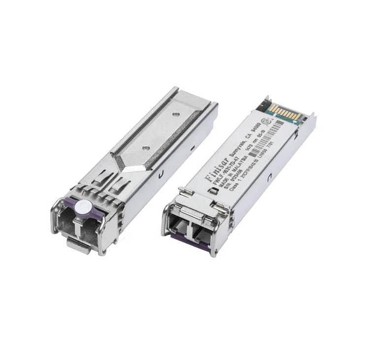 FWLF1524P2L59 Finisar 4.25Gbps Fibre Channel Single-mode Fiber CWDM 30km 1591nm LC Connector SFP Transceiver Module