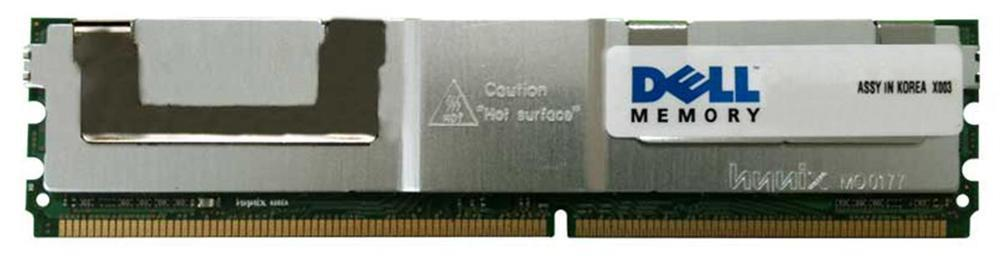 Dell 4GB PC2-5300 DDR2-667MHz non-ECC Unbuffered CL5 240-Pin DIMM Memory Module Mfr P/N H7111