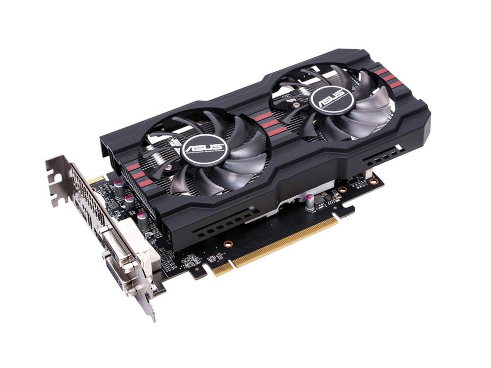 ASUS Video Graphics Card HD7790-dc2oc-2gd5 Radeon HD 7790 GDDR5 2GB PCi Express Dvi-i/dvi-d/HDmi/displayport Mfr P/N HD7790DC2OC2GD5