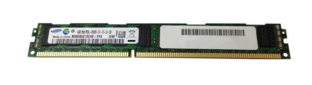 M4L-PC31066RD3D87DVL-4G M4L Certified 4GB 1066MHz DDR3 PC3-8500 Reg ECC CL7 240-Pin Dual Rank x8 VLP 1.35V Low Voltage DIMM