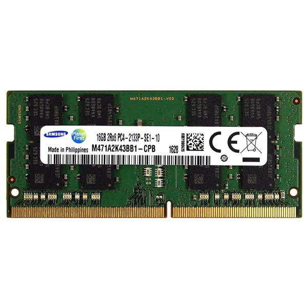 M471A2K43BB1 Samsung 16GB PC4-19200 DDR4-2400MHz non-ECC Unbuffered CL17 260-Pin SoDimm 1.2V Dual Rank Memory Module