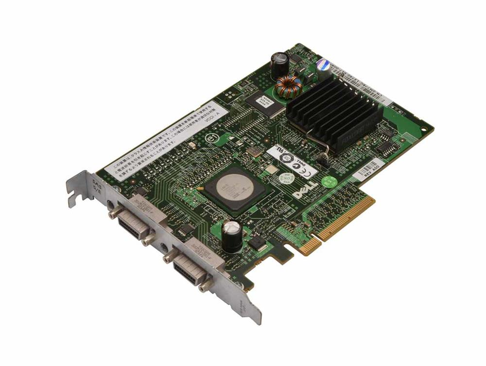 M778G Dell PERC 5/E 8-Port SAS 3Gbps Dual Channel PCI Express x8 RAID Controller Card