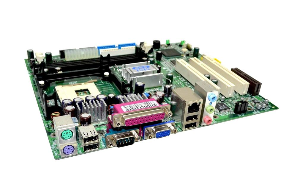 MS6714 MSI Socket 478 Intel 845GE/ ICH4 Chipset Intel Pentium 4/ Celeron Processors Support DDR 2x DIMM ATA/100 Micro-ATX Motherboard (Refurbished)