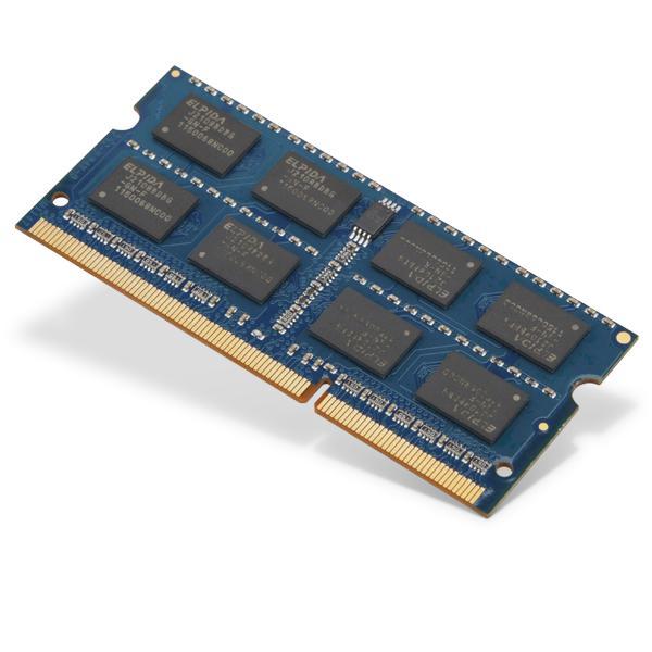 Toshiba 8GB PC3-12800 DDR3-1600MHz non-ECC Unbuffered CL11 204-Pin SoDimm 1.35V Low Voltage Memory Module Mfr P/N PA5104U-1M8G