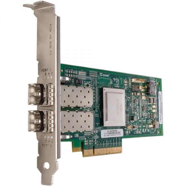 QLE2562-CK QLogic Dual-Ports LC 8Gbps Fibre Channel PCI Express 2.0 x8 Host Bus Network Adapter