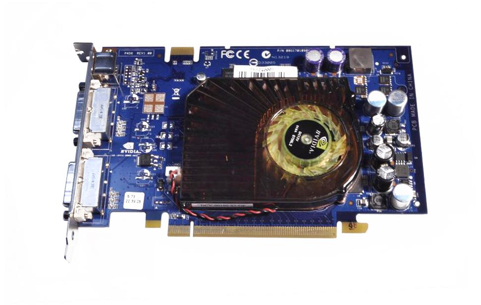 RK571-69002 HP Nvidia GeForce 7600GT 256MB PCI-Express Dual DVi/S-Video Graphics Card