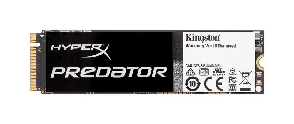 SHPM2280P2/960G Kingston HyperX Predator Series 960GB MLC PCI Express 2.0 x4 M.2 2280 Internal Solid State Drive (SSD)