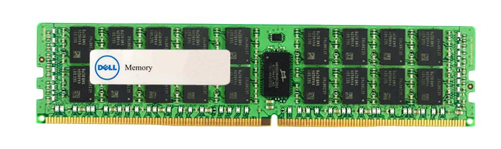 SNPCPC7GC/32G Dell 32GB PC4-19200 DDR4-2400MHz ECC Registered CL17 288-Pin DIMM 1.2V Dual Rank Memory Module