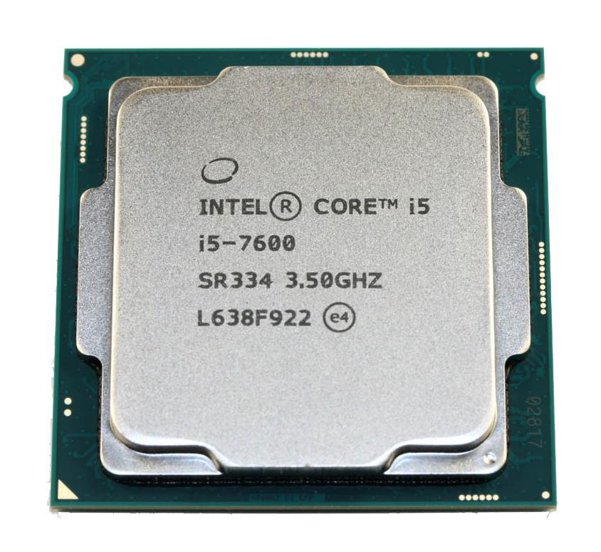 SR334 Intel Core i5-7600 Quad-Core 3.50GHz 8.00GT/s DMI3 6MB L3 Cache Socket LGA1151 Processor