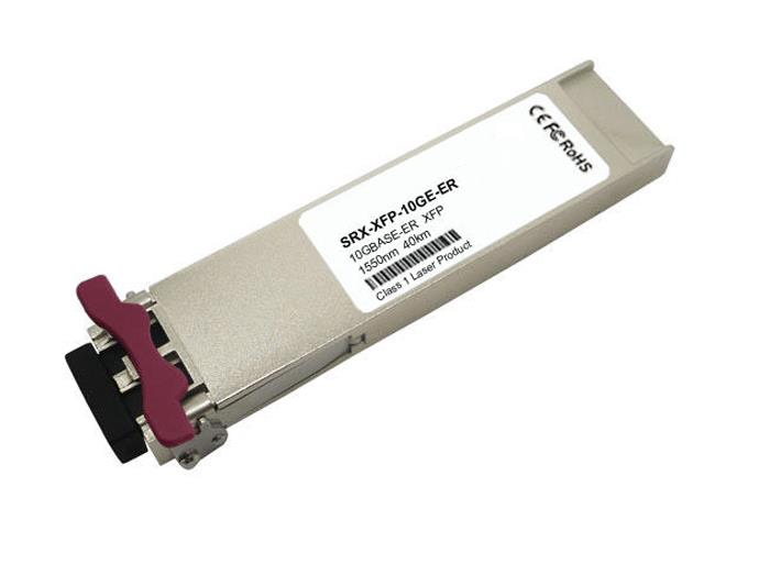 SRX-XFP-10GE-ER Juniper 10Gbps 10GBase-ER Single-mode Fiber 40km 1550nm Duplex LC Connector XFP Transceiver Module (Refurbished)