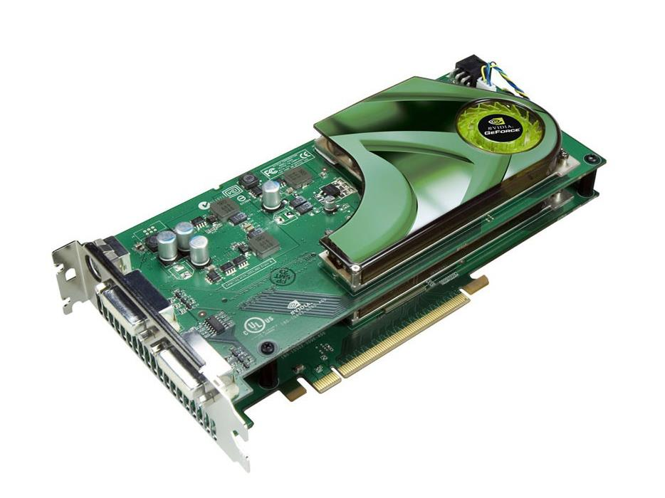 TJ027 Dell Nvidia GeForce 7950gx2 1GB Quad Sli Dual DVI / Tv-out PCI-Express Video Graphics Card