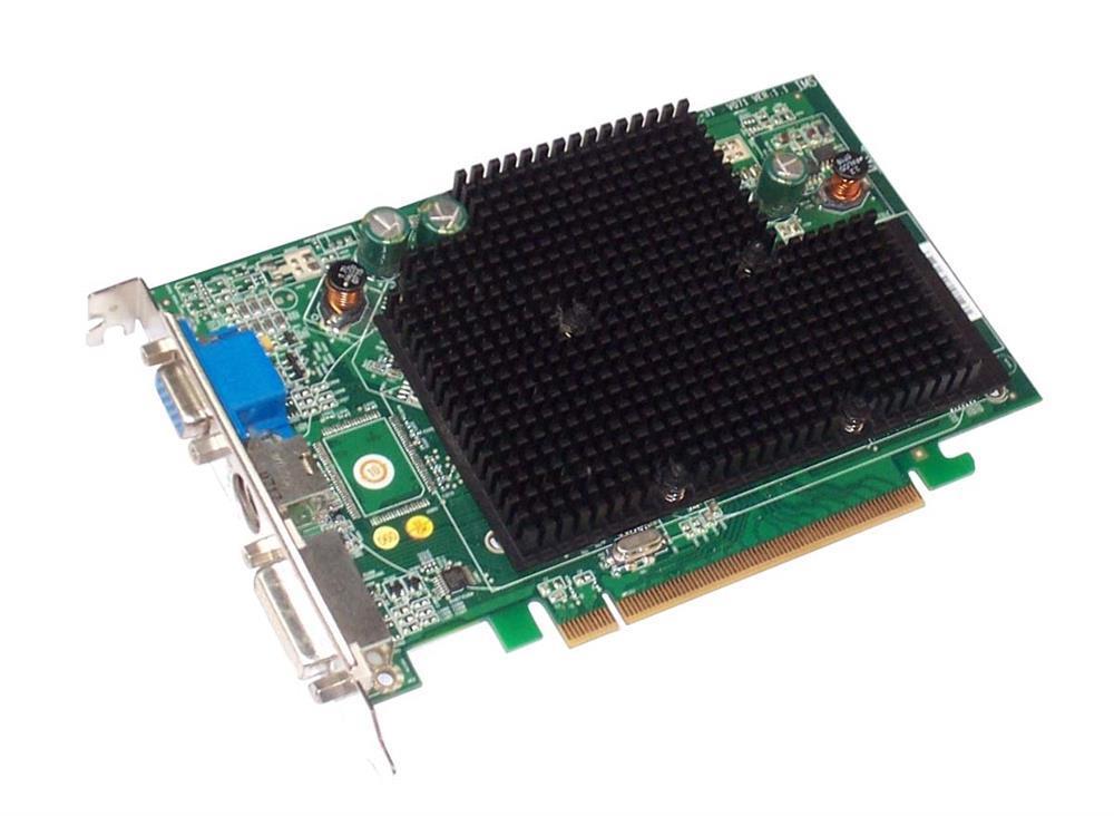 UJ973 Dell 256MB ATI Radeon X1300 Pro PCI E X16 Dual DVI TV Out Video