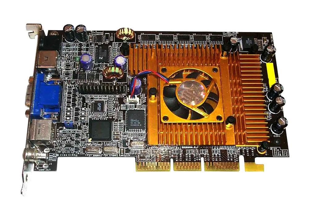 Dell Asus Deluxe 64MB Video Card Agp Mfr P/N V8200