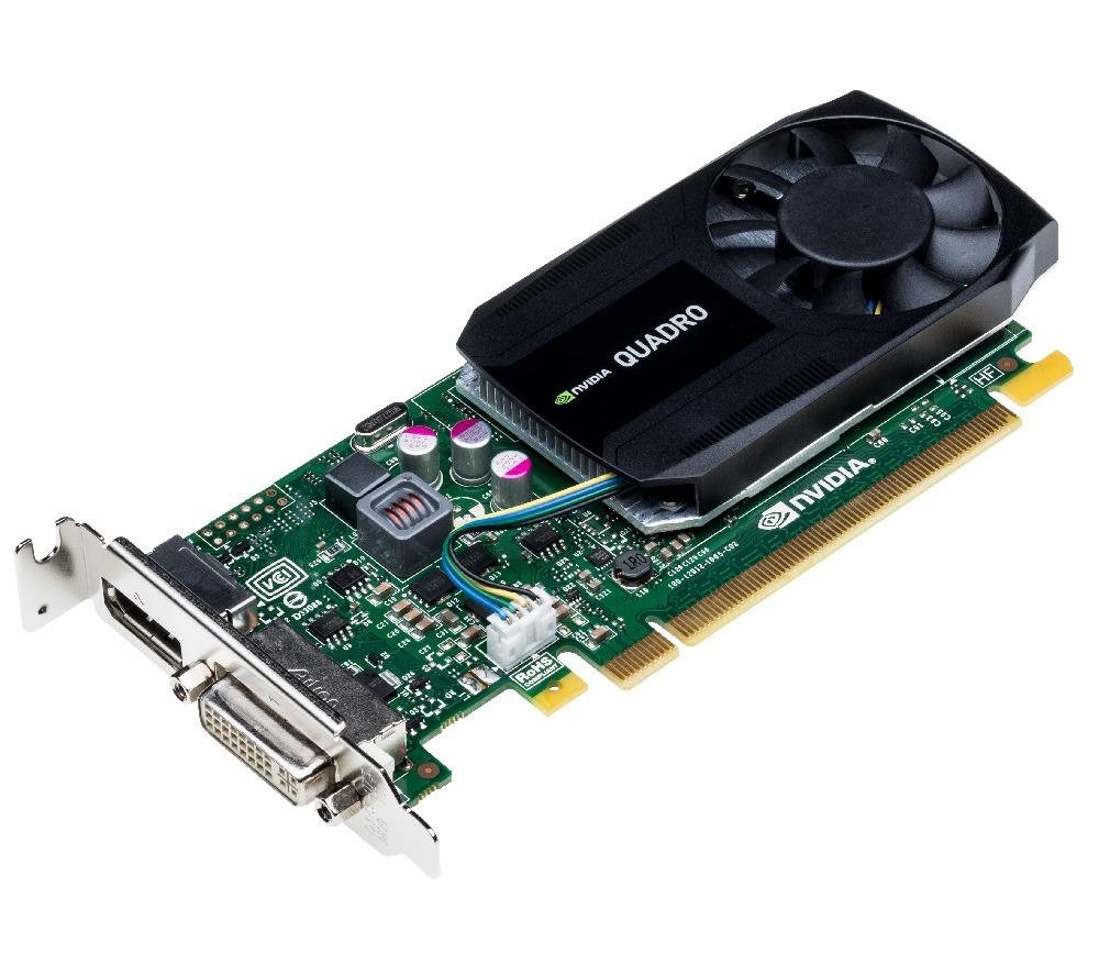 VCQK620-PB PNY Nvidia Quadro K620 2GB DDR3 128-Bit DisplayPort / DVI PCI-Express 2.0 x16 Low Profile Video Graphics Card