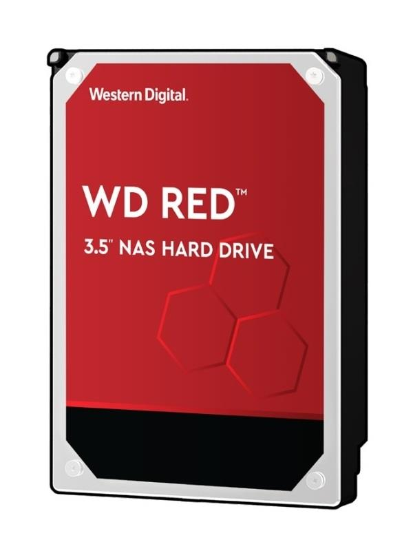 WD60EFAX Western Digital Red NAS 6TB 5400RPM SATA 6Gbps 256MB Cache 3.5-inch Internal Hard Drive