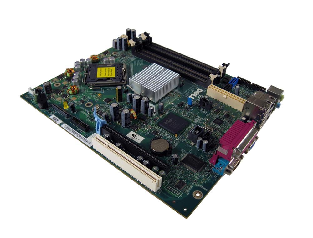 Dell System Board (Motherboard) for OptiPlex GX745 SFF (Refurbished) Mfr P/N WF810