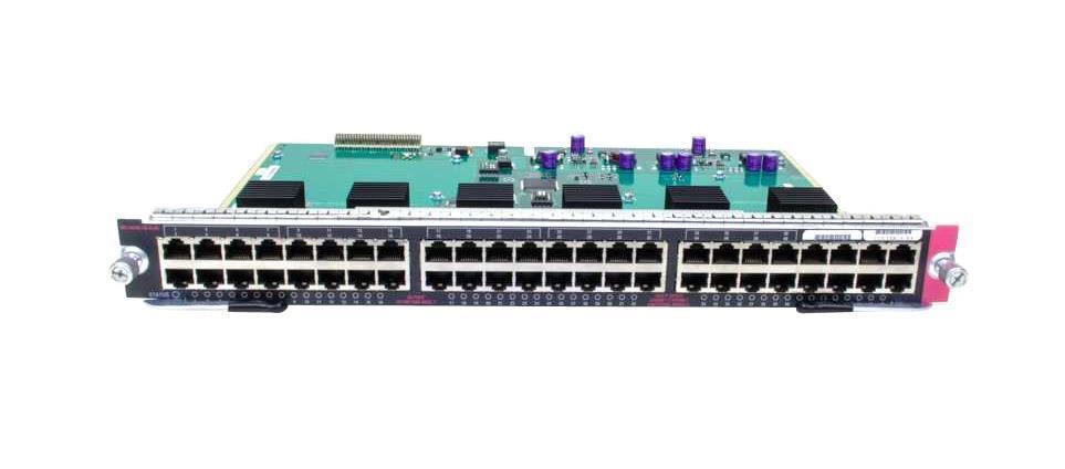 Cisco Catalyst 4500 48-Ports PoE IEEE 802.3af 10/100/1000 (RJ-45) Switch (Refurbished) Mfr P/N WS-X4548-GB-RJ45V
