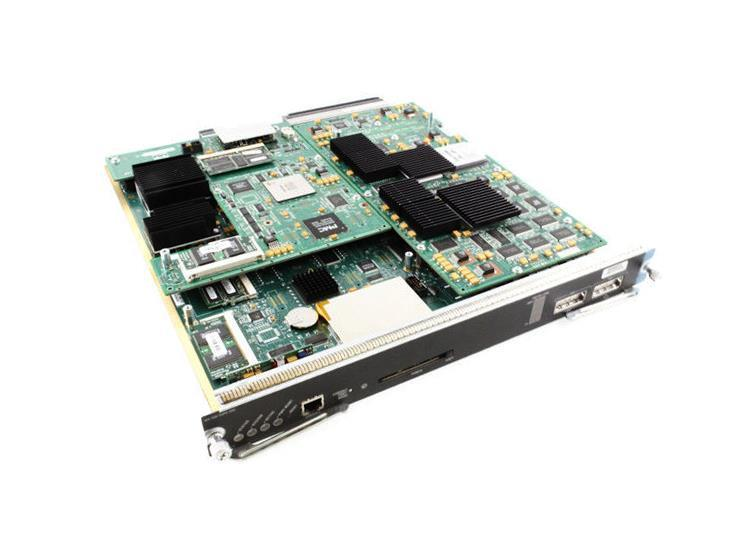 Cisco Catalyst 6000 Supervisor Engine 1 A 2GE Plus MSFC 2 and PFC (Refurbished) Mfr P/N WS-X6K-S1A-MSFC2=