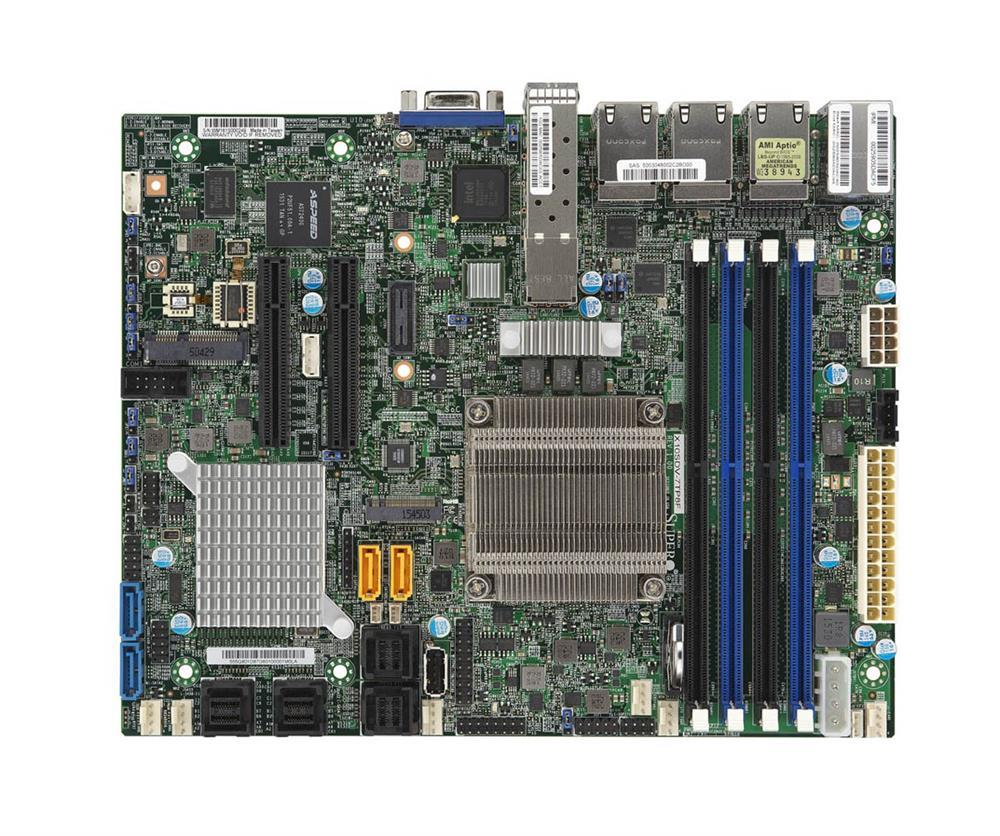 X10SDV-7TP8F Supermicro Single Socket FCBGA 1667 Xeon D-1587 Processor Supported Flex ATX Server Motherboard (Refurbished)