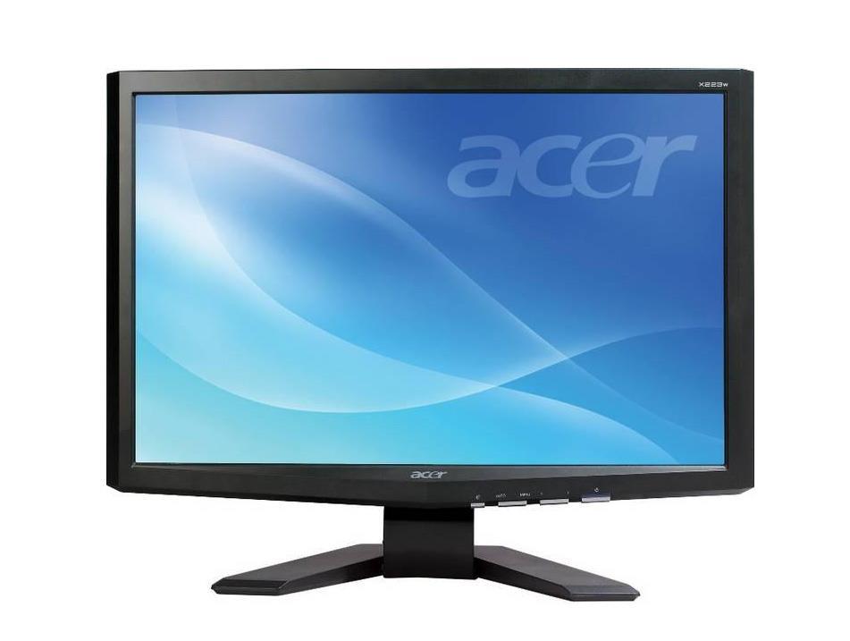 x223w acer flat panel display system. Black Bedroom Furniture Sets. Home Design Ideas