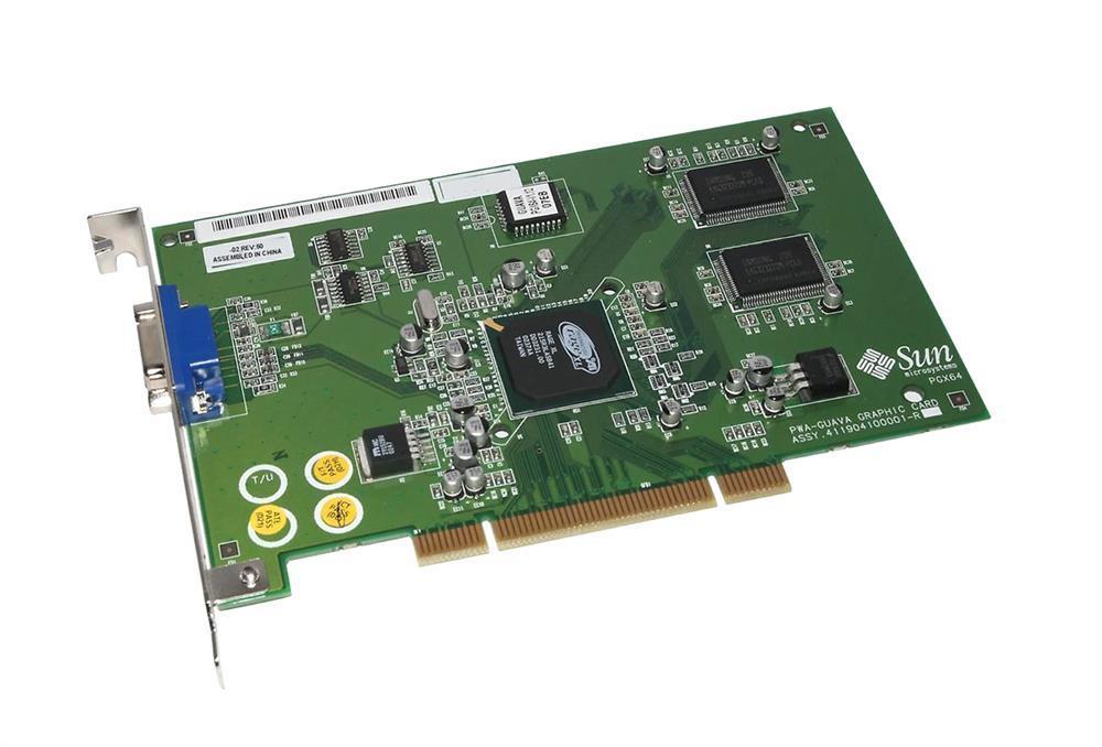 Sun PGX64 Graphics Card Mfr P/N X3768A