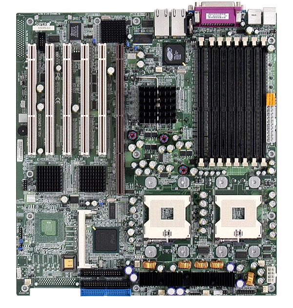 X5DPE-G2 SuperMicro Socket mPGA604 Intel E7501 Chipset Extended ATX Server Motherboard (Refurbished)