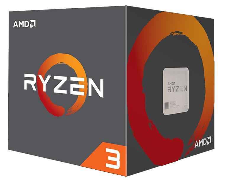 YD1200BBAEBOX AMD RYZEN 3 1200 4-Core 3.10GHz 8MB L3 Cache Socket AM4 Processor