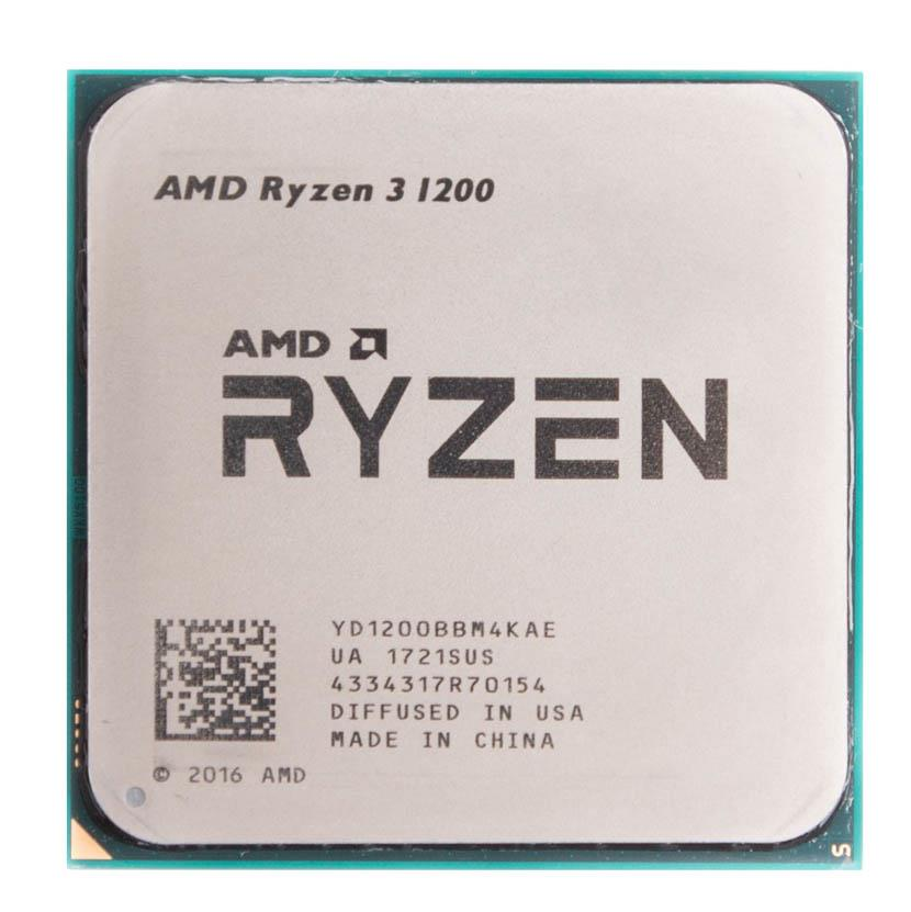 amdSLR31200 AMD Ryzen 3 1200 4-Core 3.10GHz 8MB L3 Cache Socket AM4 Processor