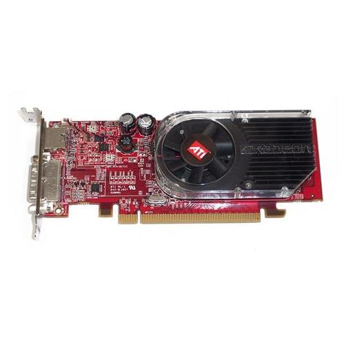 HP MSI Radeon X1600 512MB Dual DVI + VGA Adapter S-Video PCI-Express Mfr P/N 5188-6747