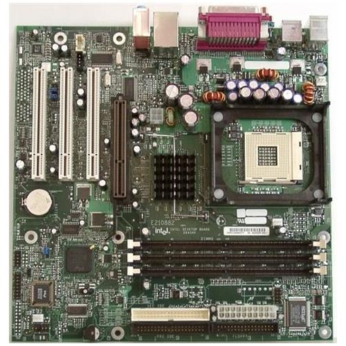 Intel Motherboard Socket PGA478 DDR micro ATX (Refurbished) Mfr P/N A81583-302