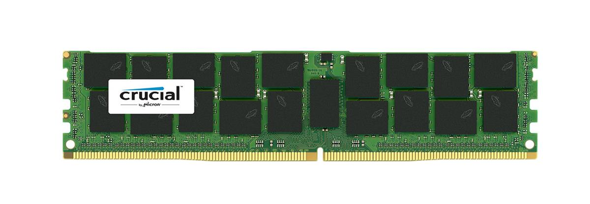 CT8030927 Crucial 16GB PC4-21300 DDR4-2666MHz ECC Registered CL19 288-Pin DIMM 1.2V Dual Rank Memory Module for PowerEdge R730